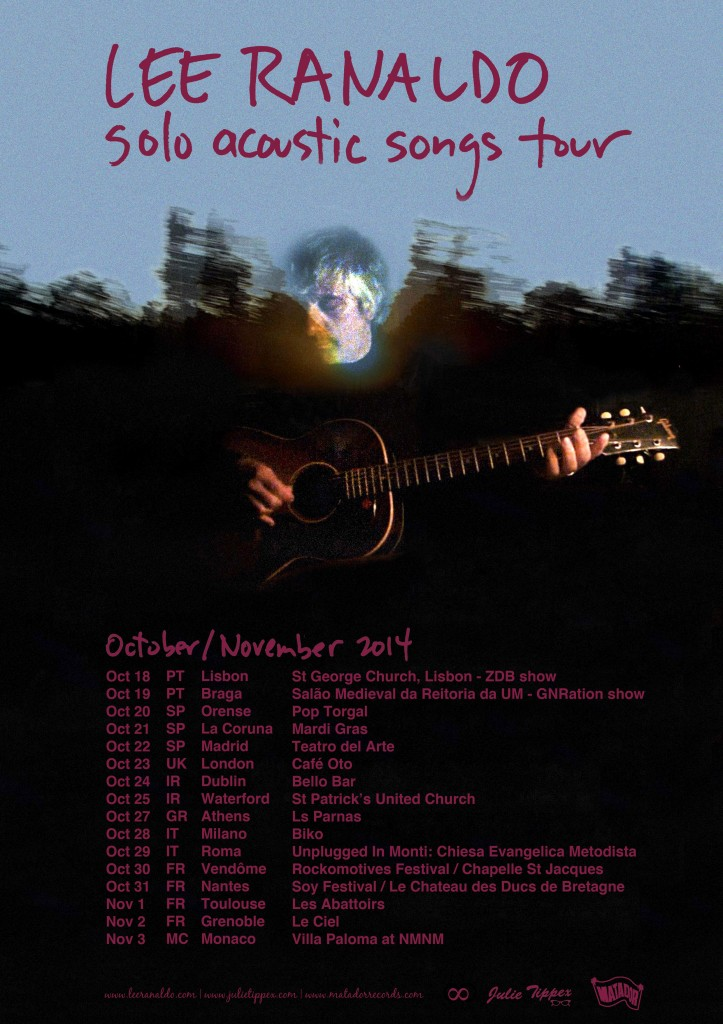 ACOUSTIC TOUR POSTER W DATES A4
